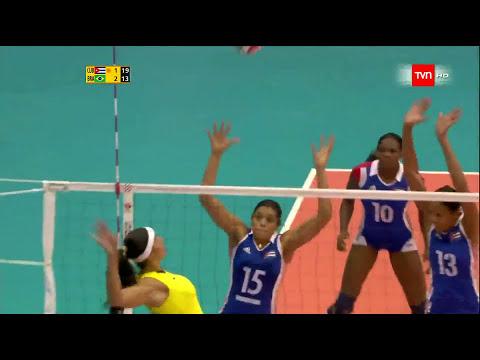 Voleibol Brasil Cuba Mejor Punto
