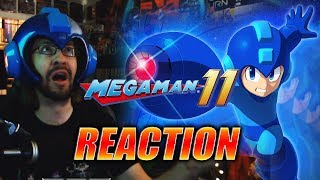 MAX REACTS: Mega Man 11 - Reveal & Discussion