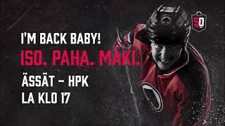 Ässät - HPK klo 17 - Jussi Makkonen palaa kokoonpanoon