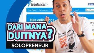 Dari Mana Duitnya? - Online Freelancer (Solopreneur)