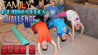 Family Obstacle Course Challenge Part 2