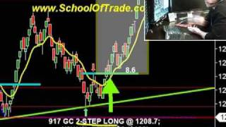 $700 Day Trading Gold Futures E-Mini Futures Crude Oil Futures Scalping