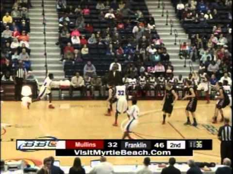 Alex Brown - Mullins High School Auctioneer Basketball- Highlights from 2013 Beach Ball Classic