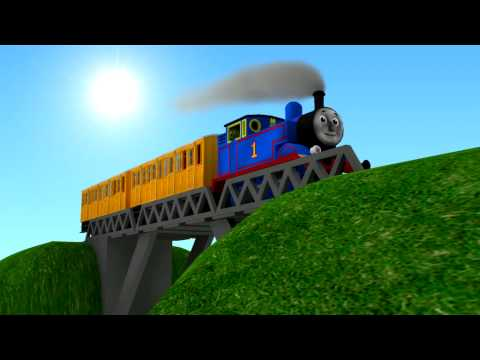 3D Thomas the Tank Engine Video3