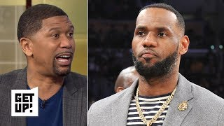 The Lakers working to repair relationship with LeBron is not surprising – Jalen Rose | Get Up!