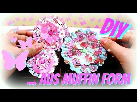 Basteln: Papierblumen selber machen | DIY deutsch |  9999 Dinge - DIY, Basteln & Trends