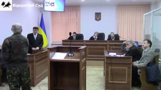 Criminal case against Olexander Popov (the former head of Kyiv GGA)