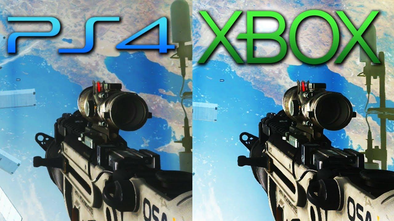 vs XBOX ONE graphics -...