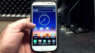 Samsung Galaxy S3 SynergyRom rls169 Review