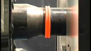 Thompson Friction Welding -  API drill rod machine