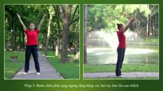 Bài Thể dục buổi sáng 9 động tác - Bài quy định