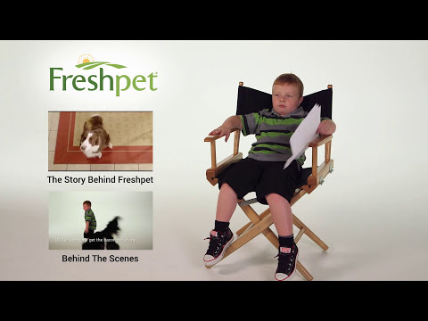 Apparently Kid's First Ever TV Commercial - Freshpet
