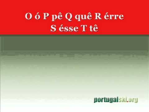 Albabeto - Alfabet Portugalski - Portugalski.org