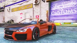 "GTA V - Pimp My Ride | Obey 9F Cabrio Sports ""Audi R8"" Car Tuning Customization (GTA V)"
