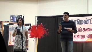 Valai - Valai osai stage performance, Tamil mandram sacramento Dec2011