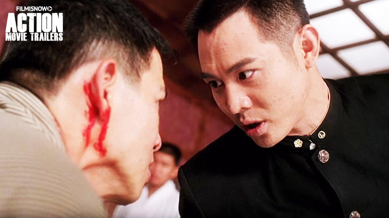 Jet Li vs Jackson Lau Hok-Yin - FIST OF LEGEND Fight Scene [HD]