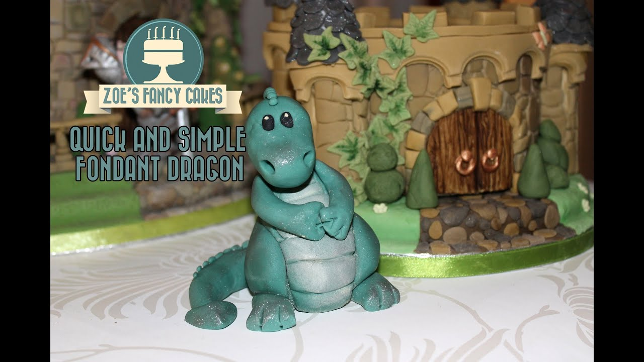 How To Decorate A Dragon Cake