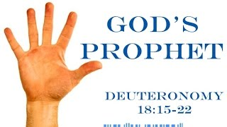 Are You A Prophet? See How God Answers This Question