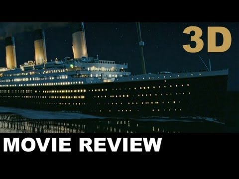 movie review titanic 3d Peter travers declares that the film 'titanic' represents the best and worst of 1997.