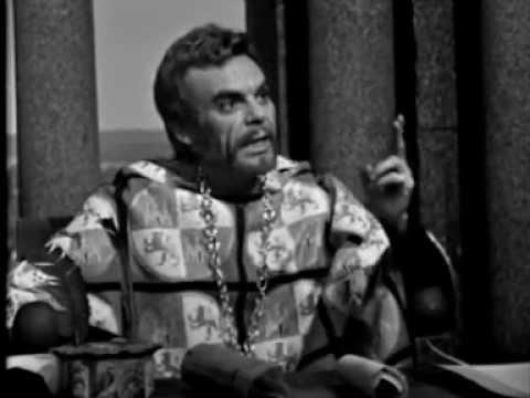 Estudio 1 TVE. El mejor Alcalde, el Rey, de Lope de Vega