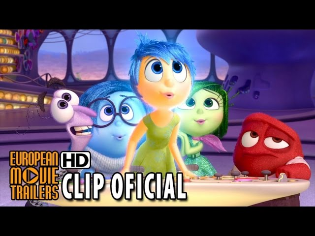 Del Revés - Inside Out Clip 'Asco e Ira' (2015) HD