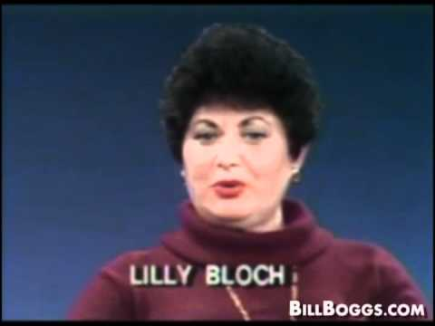 Holocaust Survivor - World War II -  Lilly Bloch Interview with Bill Boggs