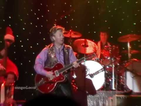 Brian Setzer - Angels We Have Heard On High - December 16, 2009
