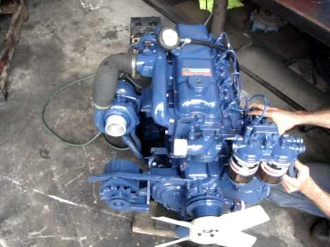 Motor Turbo Diesel Perkins Q20b Youtube