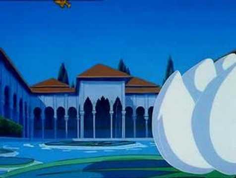 Prenses Şehrazat Çizgi Filminin Başlama Müziği oyunu