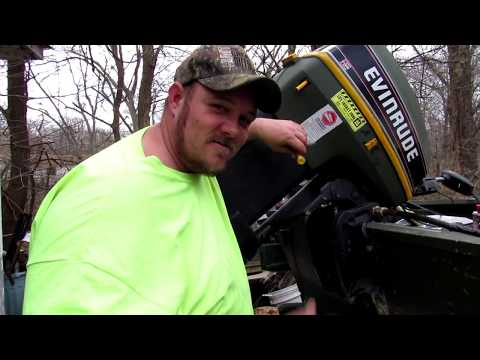 How to fill or add fluid to your boats power tilt/trim 🚤 Evinrude