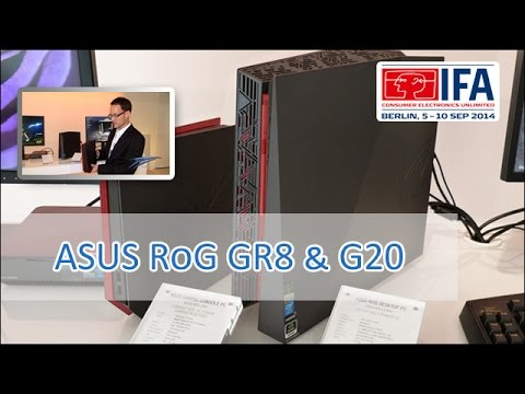 ASUS RoG GR8 & G20 im Hands On [german/HD]