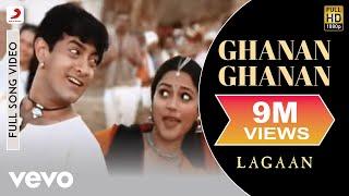 download lagu Ghanan Ghanan - Lagaan  Aamir Khan  A.r. gratis