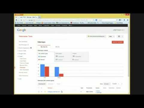 A review of Google Analytics and Google Webmaster Tools Set Up