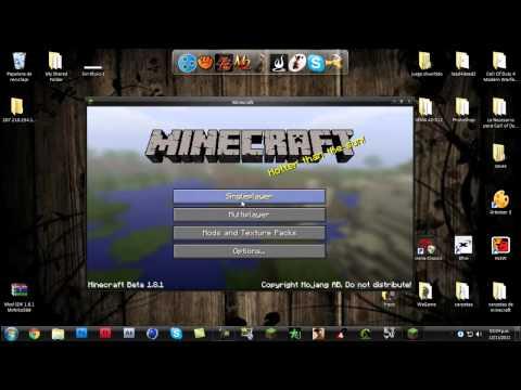 Minecraft-Como Instalar Mod SDK 1.8.1 ( Español )