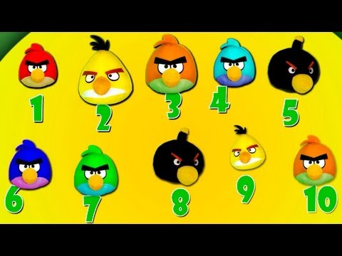 Angry Birds Song for kids and children — Learn to Count Learning Games!