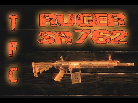 TFC Ruger SR762 Tabletop and Range Review