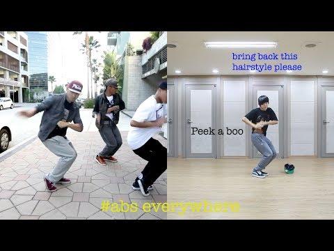 Predebut BTS Jimin dance practice VS original video