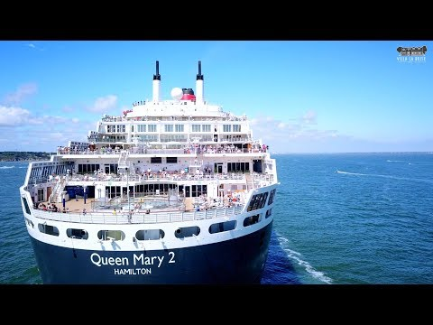 Queen Mary 2 is back to Saint Nazaire
