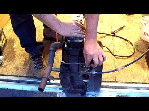 LARRYS OHV HH140 TECUMSEH ENGINE.
