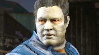 Mortal Kombat XL - Michael Myers Bo' Rai Cho Costume Mod Performs Intros On All Stages 4K Mods