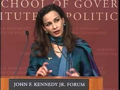 A Public Address by Her Excellency Sherry Rehman Ambassador of Pakistan | Instit