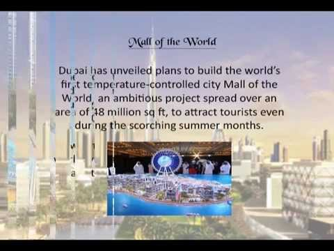 Mall Of The World - Dubai unveils the world's largest mall