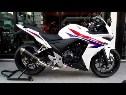 2013 CBR500R Exhaust Sound Clip Video & More! K-Speed / Honda of Chattanooga