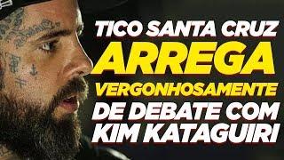 Tico Santa Cruz foge de debate ao vivo em rádio- Kim Kataguiri