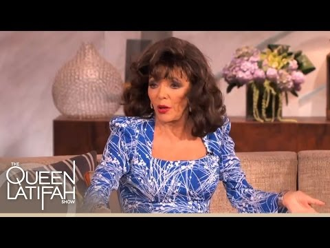 Joan Collins Answers Fan Relationship Questions on The Queen Latifah Show