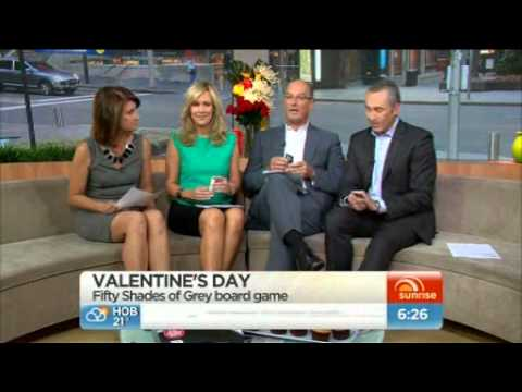 Fifty Shades of Grey Party Game on Sunrise (Australia)