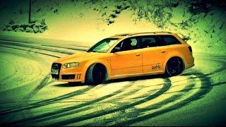 Snow Fail BMW vs AUDI