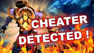 Dota 2 Cheaters: Clinkz with AUTO-KILL SCRIPTS!