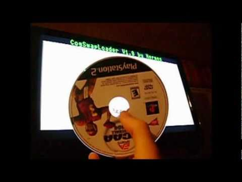 Play PS2 Backup without Mod-Chip Swap Magic or action replay/codebreaker