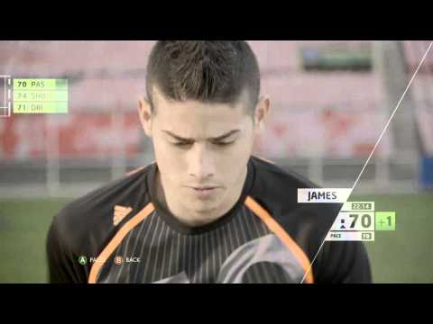 2014 FIFA World Cup Brasil Gameplay - miCoach World Cup Training